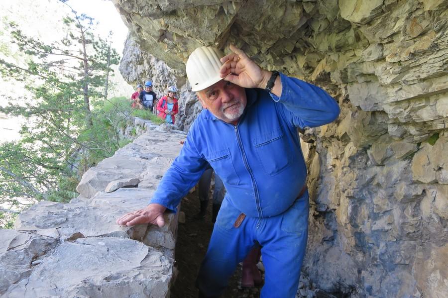 randonnée découverte Dévoluy canal Pallafol montagne