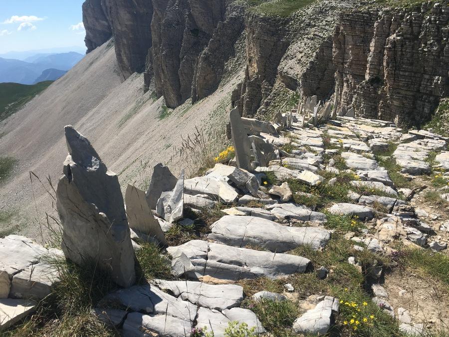 randonnée Dévoluy col de Charnier bivouac montagne nature