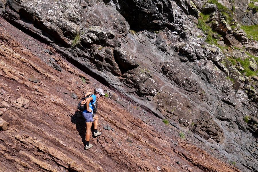 randonnée géologique Champsaur Ecrins Alpes accompagnateur géologue montagne nature