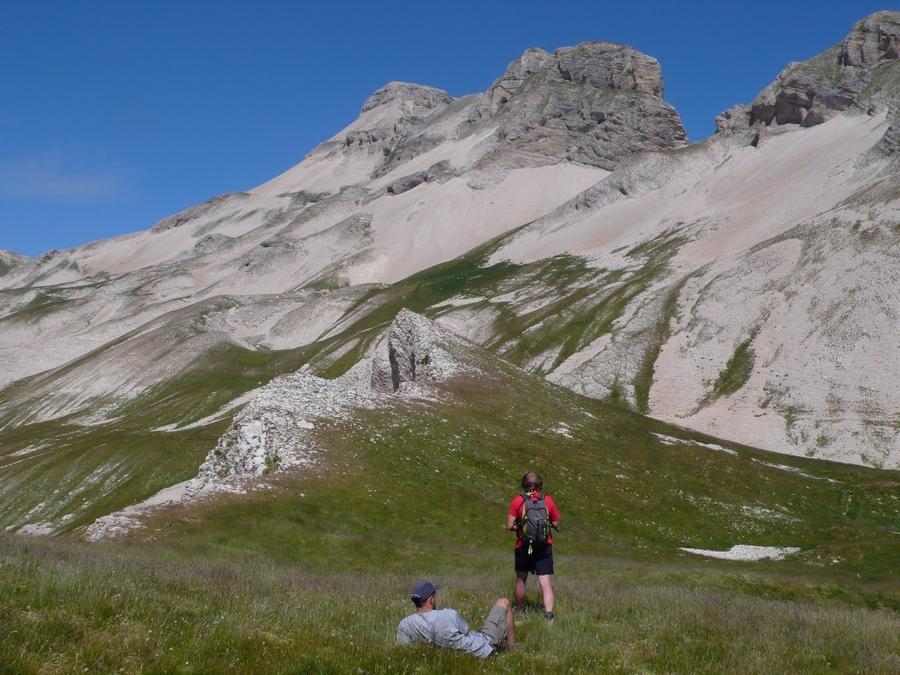 randonnée Dévoluy grand Ferrand accompagnateur montagne nature
