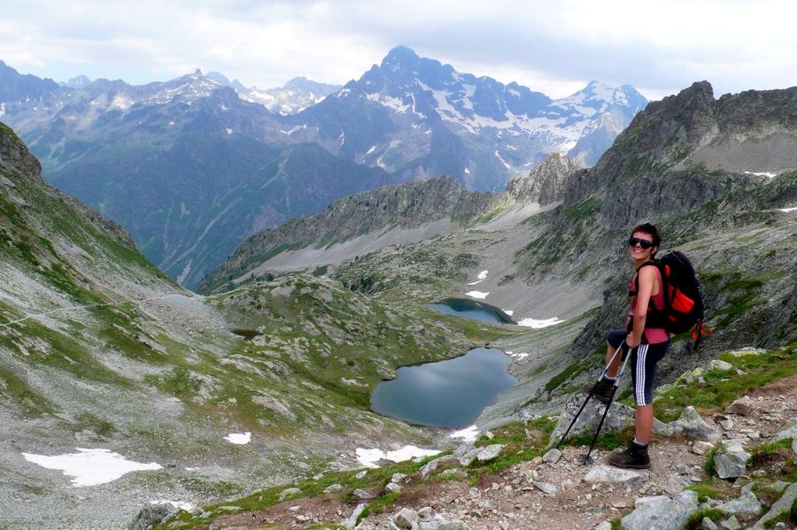 randonnée Valgaudemar Ecrins lacs de Pétarel accompagnateur montagne nature