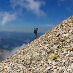 randonnée sportive Dévoluy Grand Ferrand accompagnateur montagne