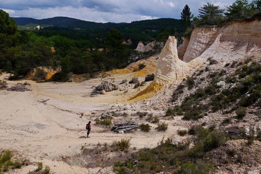 Colorado provençal Rustreloccre géologie accompagnateur moyenne montagne