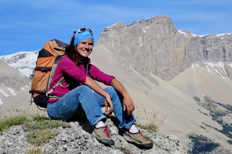 Marianna Jagercikova accompagnateur en moyenne montagne géologue