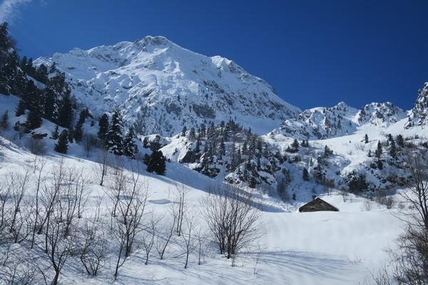 randonnée accompagnateur raquettes Hautes-Alpes Écrins