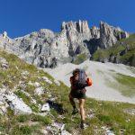 randonnée vertige Obiou Dévoluy accompagnateur Fuvelle montagne