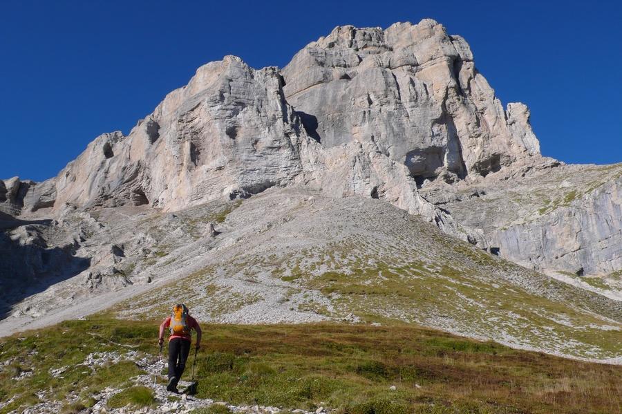 randonnée sportive Obiou Dévoluy accompagnateur montagne nature