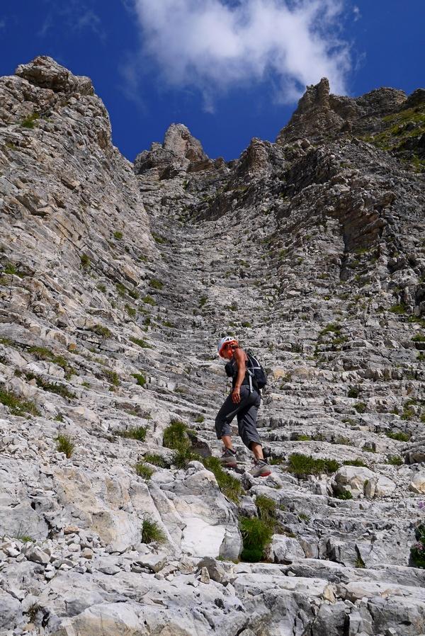 randonnée vertige Dévoluy Pic de Bure Pas de Paul montagne nature