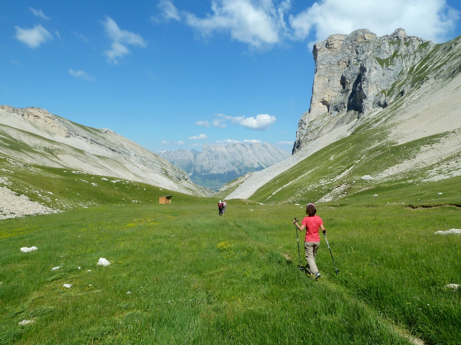 randonnée Dévoluy col du Charnier vacances montagne nature