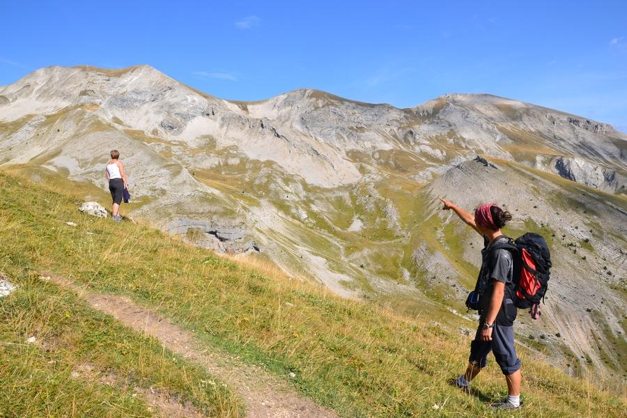 randonnée montagne Dévoluy Superdévoluy Hautes-Alpes accopagnateur nature