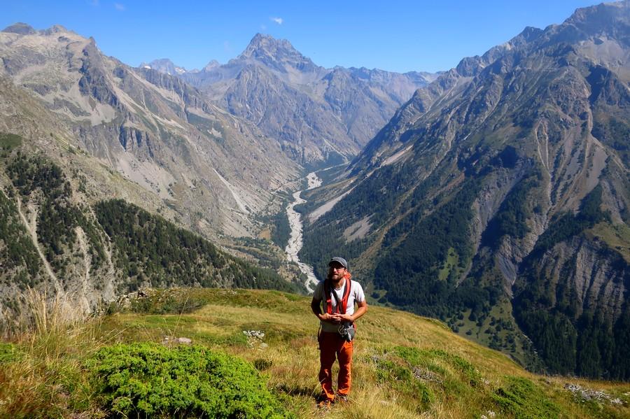 randonnée Champsaur Champoléon Hautes-Alpes accompagnateur vacances Ecrins nature montagne