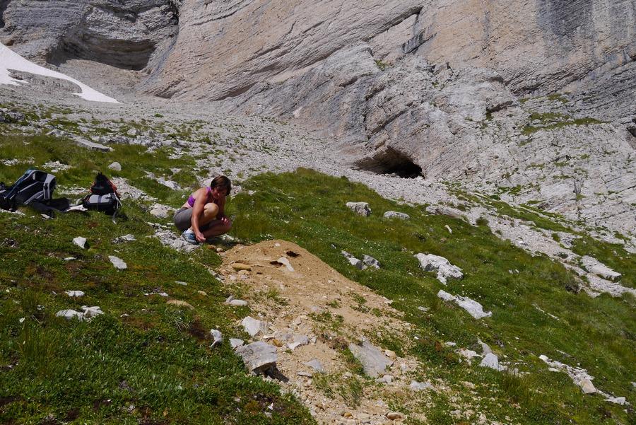randonnée géologie Dévoluy obiou galets marmottes montagne nature
