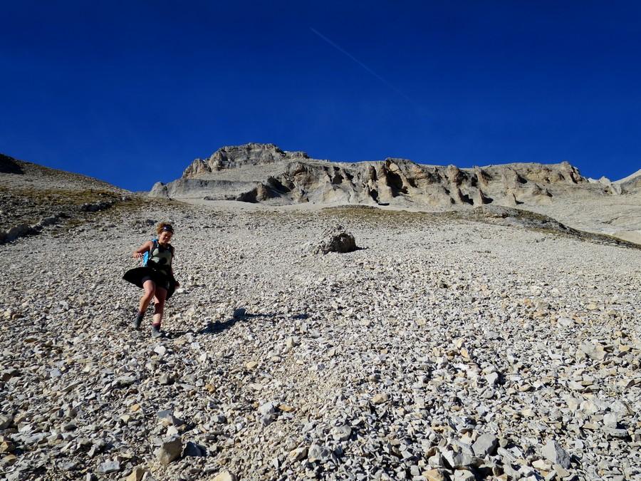randonnée sportive Dévoluy accompagnateur Grand Ferrand montagne nature