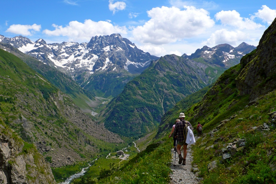 randonnée Valgaudemar Ecrins Gioberney accompagnateur montagne nature Sirac
