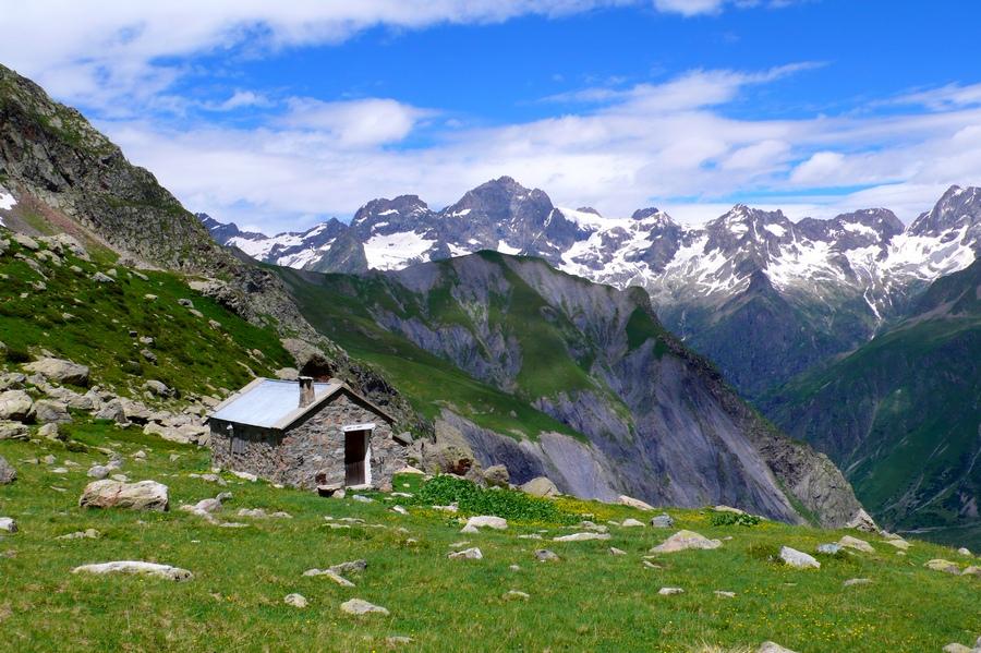 randonnée Valgaudemr Ecrins refuge Vallonpierre accompagnateur montagne nature
