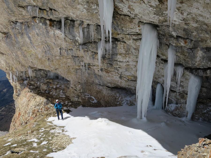 ranonnée verrige Dévoluy chourum glacé Pare Pic de Bure montagne nature