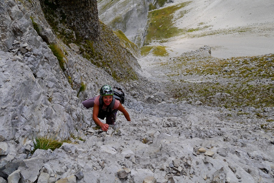 Randonnée vertige Dévoluy escalier Fuvelle Obiou montagne nature
