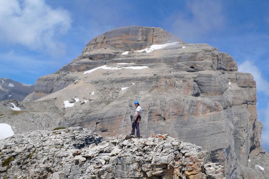 randonnée vertige Petit Obiou Dévoluy accompagnateur montagne nature