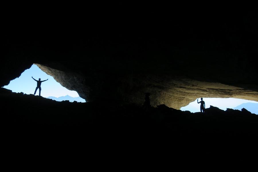 randonnée vertige yeux Obiou Dévoluy montagne nature