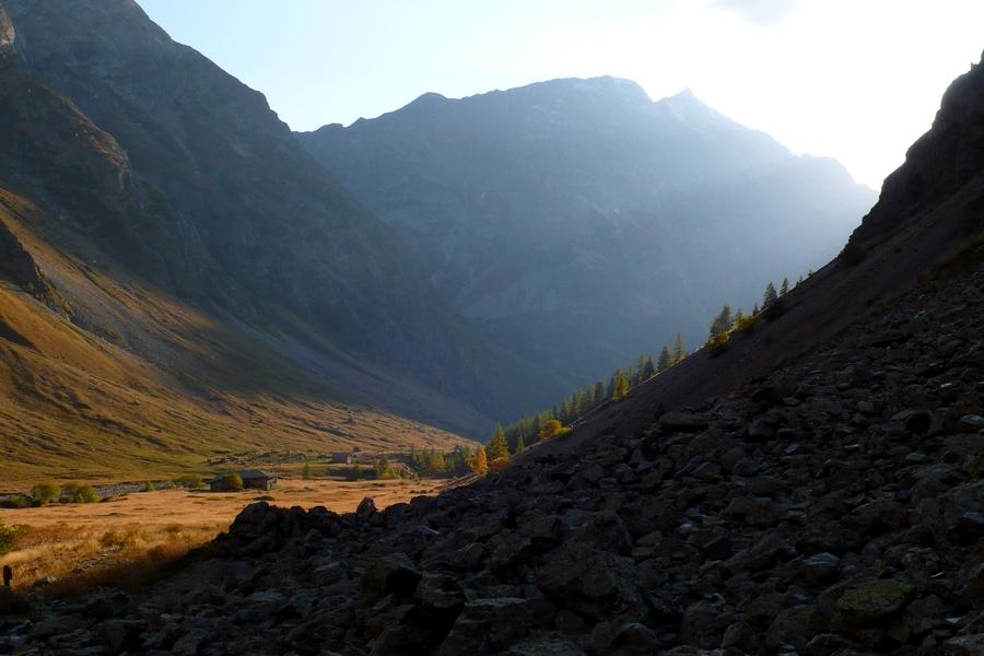 randonnée itinérante Champsaur Valgaudemar Ecrins accompagnateur montagne nature Chaumette