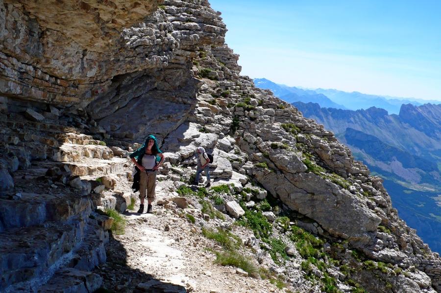 randonnée sportive Obiou Dévoluy accompagnateur montagne