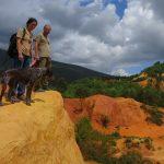 Colorado provençal Rustrel occre géologie accompagnateur moyenne montagne