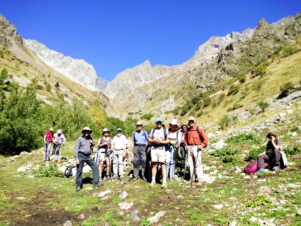 géologie randonnée Parc National Ecrins Hautes Alpes