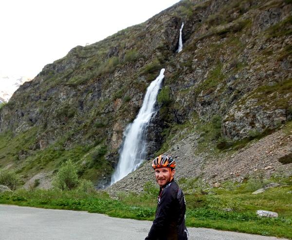 cascade voile de la Mariée Valgaudemr Ecrins Hautes-Alpes montagne Gioberney