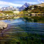 lacs Pétarel Valgaudemar randonnée Ecrins Hautes-Alpes montagne