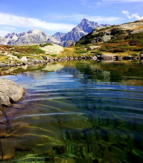 lacs Pétarel VAlgaudemr randonnée Ecrins Hautes-Alpes montagne