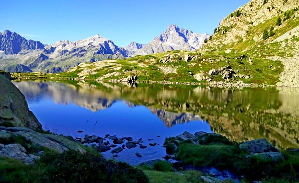 lac Pétarel Valgaudemar Ecrins Hautes-Alpes randonnée montagne
